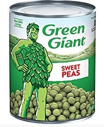 Green Giant Peas